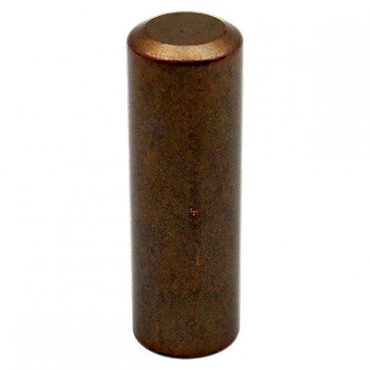 Декоративный колпак на петлю EXACTA, D16, металлический, темная бронза фото_1