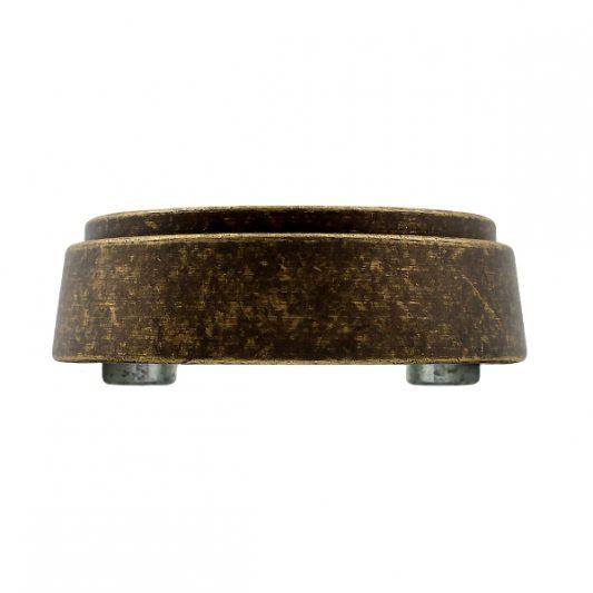 Защитная накладка на цилиндр, для входных дверей, старая бронза фото_1