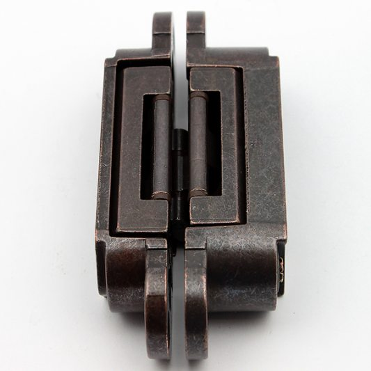 Скрытая регулируемая петля INVISACTA бронза 30 х 120 фото_3