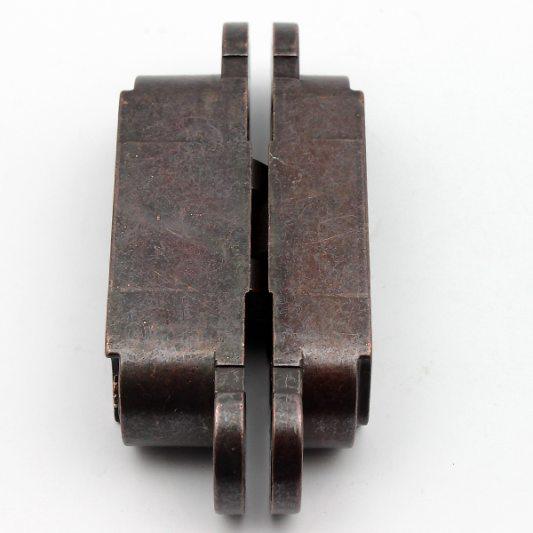 Скрытая регулируемая петля INVISACTA бронза 30 х 120 фото_4