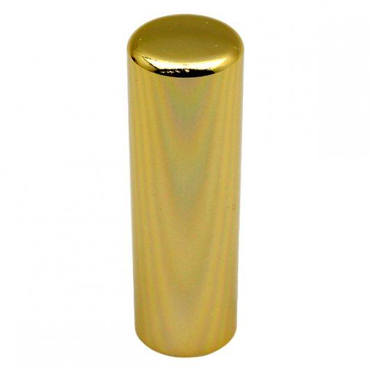 Декоративный колпак на петлю EXACTA, D21, алюминиевый, латунь полированная фото_4