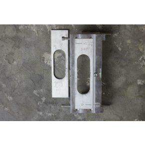 Шаблон для установки скрытых петель INVICASTA  профессиональный алюминиевый