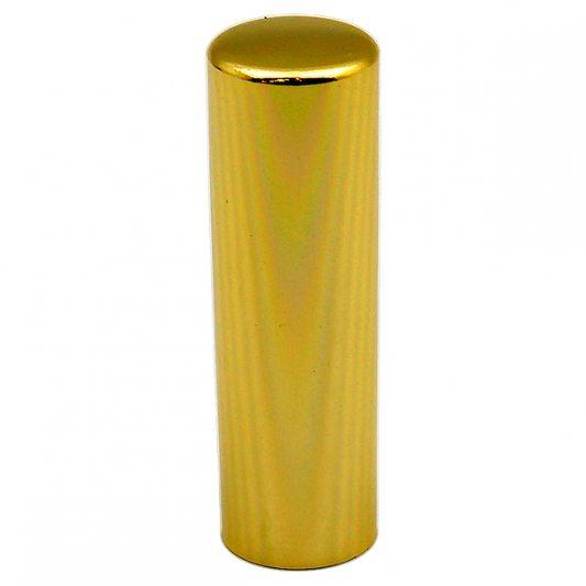 Декоративный колпак на петлю EXACTA, D15,алюминиевый, латунь полированная фото_3