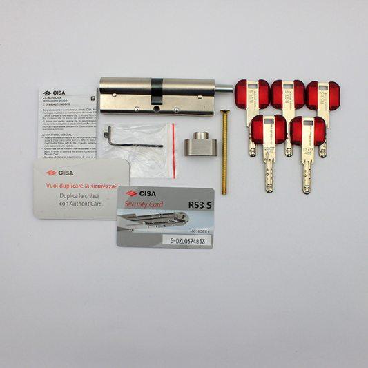 Цилиндр фигурный RS3, лазерный ключ с подвижным элементом фото_4