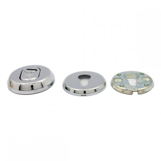 Защитная накладка на цилиндр, с регулировкой посадки цилиндра, для входных дверей фото_1