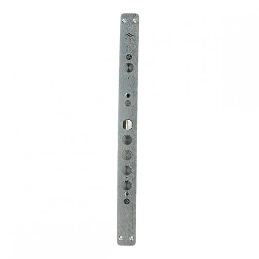 Замок для входных металлических дверей,  многофункциональный, цилиндр + цилиндр (с редуктором и блокировкой фото_1