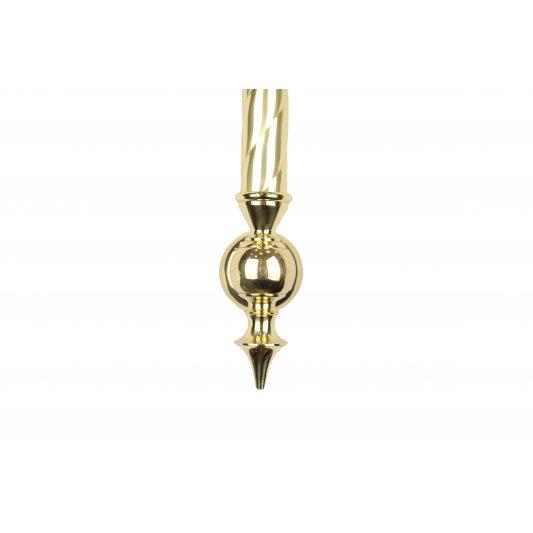 Дверная ручка SMERALDO - скоба, латунь полированная фото_1