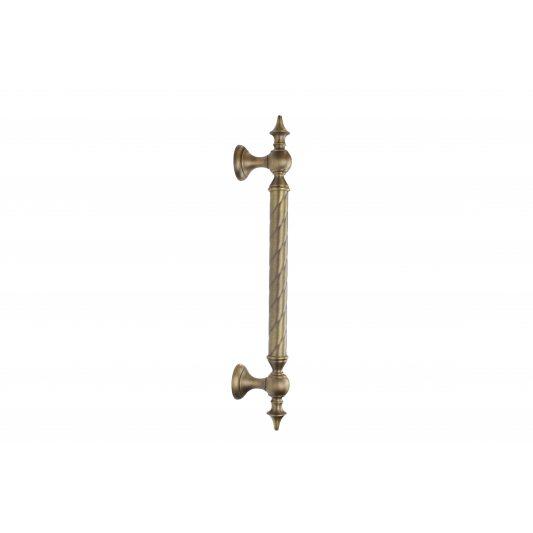 Дверная ручка SMERALDO - скоба, бронза матовая фото_2