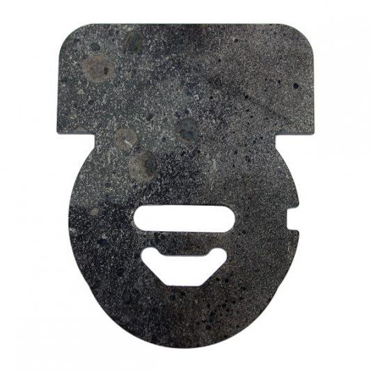 Накладка из марганцовистой стали для защиты от высверливания, для сувальдных замков
