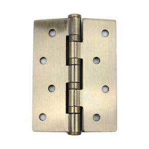 Петля дверная универсальная, бронза лакированная