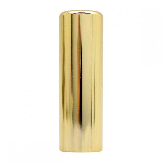 Декоративный колпак на петлю EXACTA, D21, алюминиевый, латунь полированная фото_3