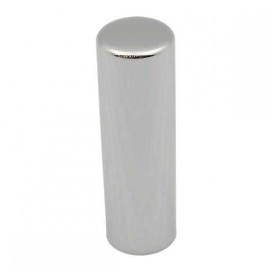 Декоративный колпак на петлю EXACTA, D15,алюминиевый, хром полированный фото_1