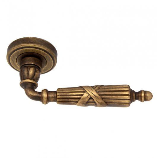 Дверная ручка IMPERO, бронза матовая фото_3