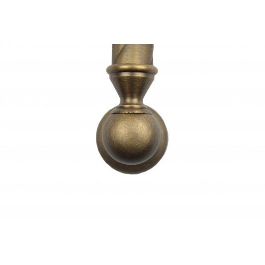Дверная ручка TOPAZIO - скоба, бронза матовая фото_2