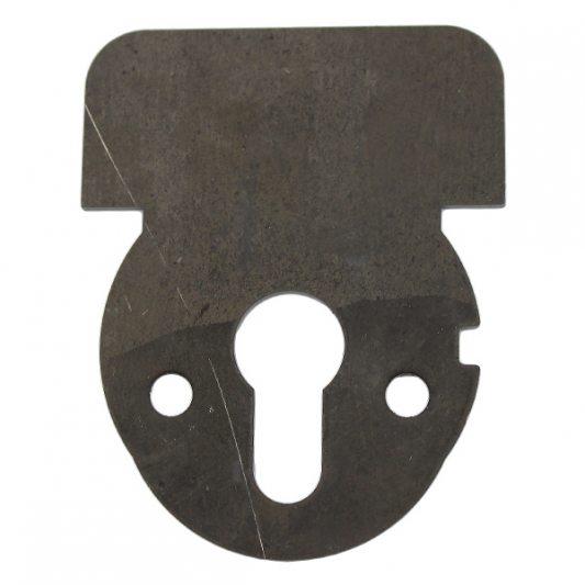 Накладка из марганцовистой стали для защиты от высверливания, для цилиндровых замков фото_2