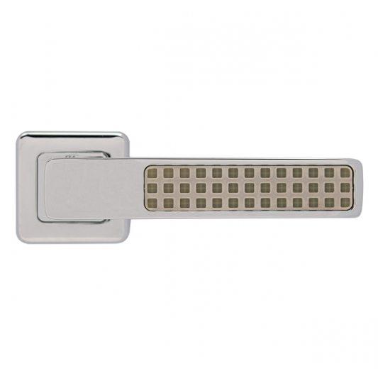 Дверная ручка CLOUD 2 night (люминисцентные квадраты)