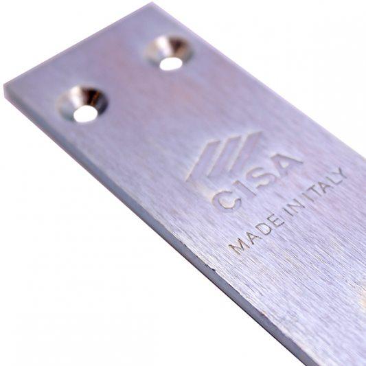 Лицевая планка из никелированной стали,  к замкам 57986 фото_3