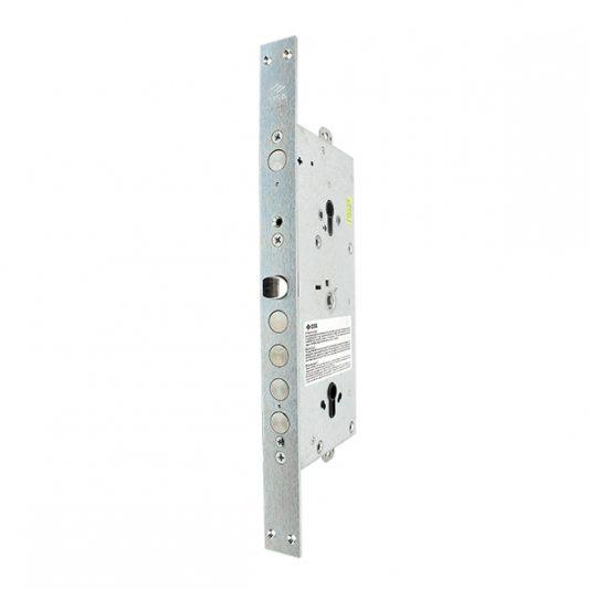 Замок для входных металлических дверей,  многофункциональный, цилиндр + цилиндр (с редуктором и блокировкой фото_2