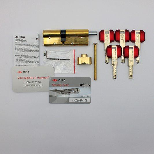 Цилиндр фигурный RS3, лазерный ключ с подвижным элементом фото_5