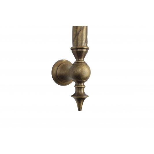 Дверная ручка SMERALDO - скоба, бронза матовая фото_3