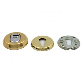 Защитная накладка на цилиндр, с регулировкой посадки цилиндра, для входных дверей