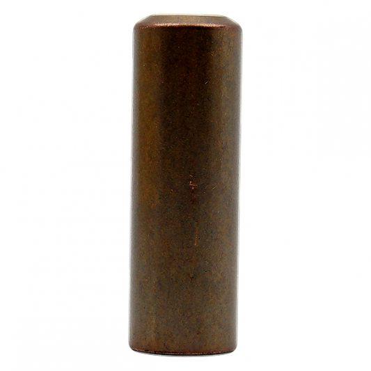 Декоративный колпак на петлю EXACTA, D16, металлический, темная бронза фото_3