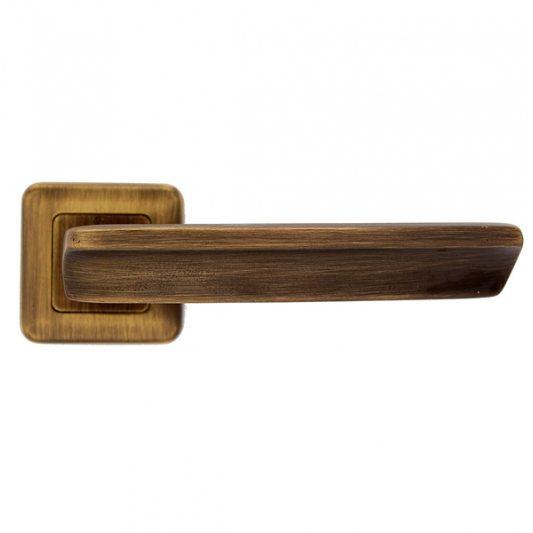 Дверная ручка ARTE, бронза матовая