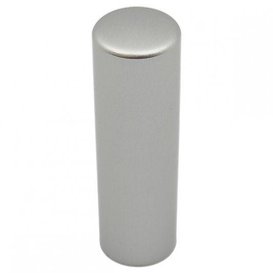 Декоративный колпак на петлю EXACTA, D17, алюминиевый, хром матовый фото_2
