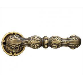 Дверная ручка CARMEN, бронза матовая