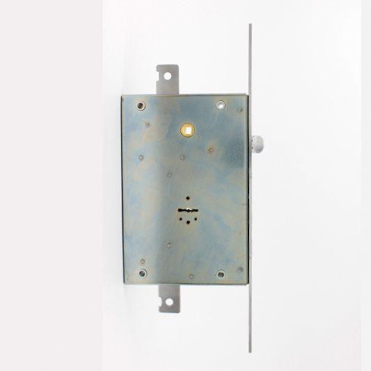 Замок для входных металлических дверей + ключ для рабочих фото_2