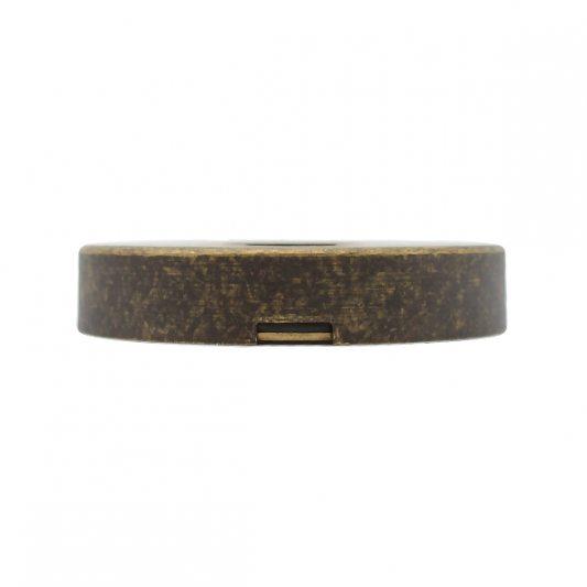 Защитная накладка на цилиндр, для входных дверей, старая бронза фото_4