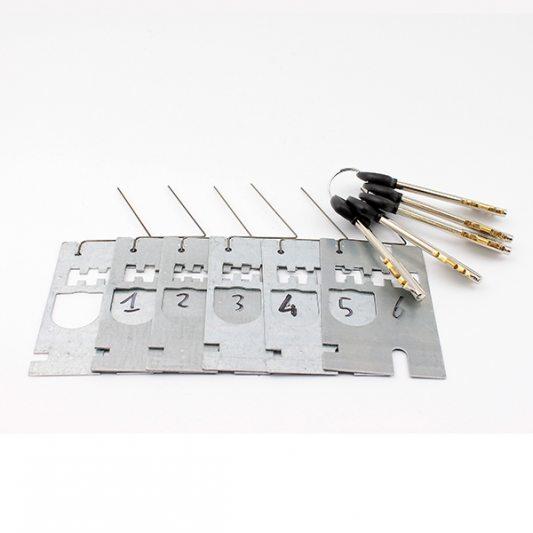 Сменные  пластины с ключами