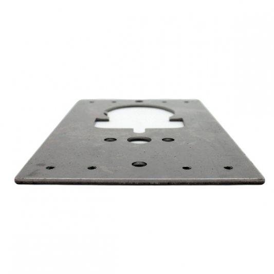 Привариваемая стальная пластина фото_1