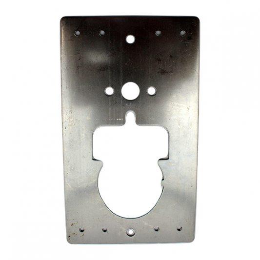 Привариваемая стальная пластина