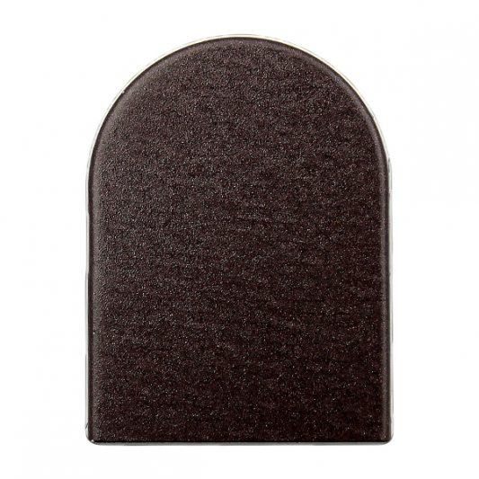 Декоративные накладки на скрытые петли INVISACTA, темная бронза