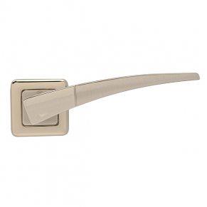 Дверная ручка COMET, никель комбинированный