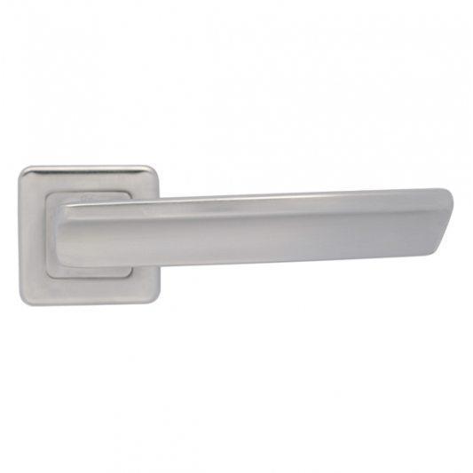 Дверная ручка ARTE, хром матовый