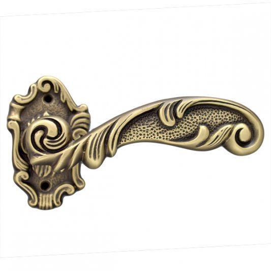 Дверная ручка HELEN, бронза матовая