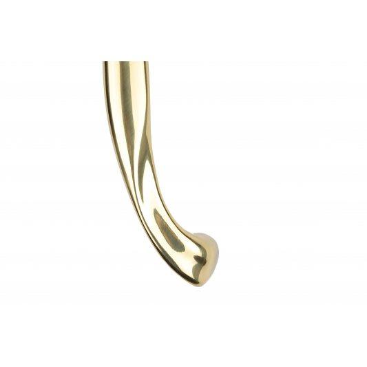 Дверная ручка ZANTE - скоба, латунь полированная фото_2