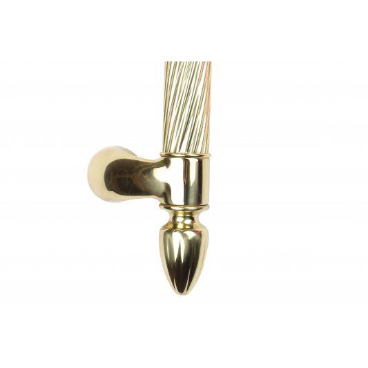 Дверная ручка ORIENT - скоба, латунь полированная фото_2