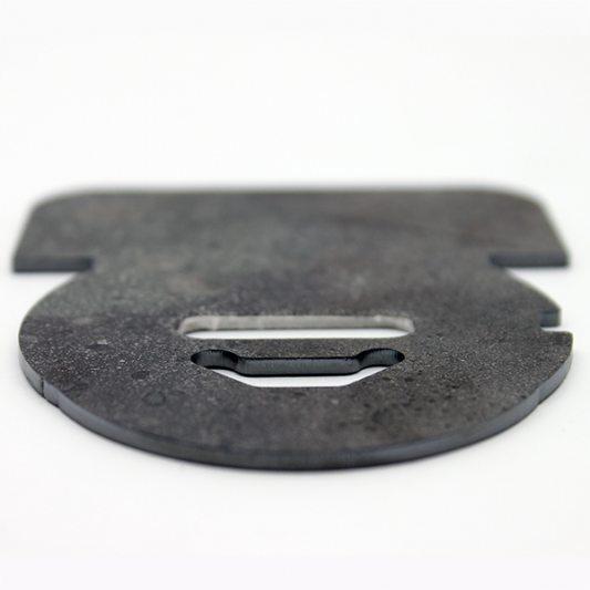 Накладка из марганцовистой стали для защиты от высверливания, для сувальдных замков фото_2