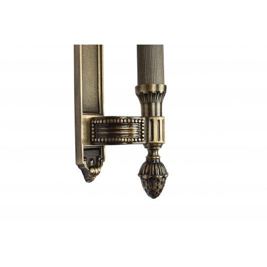 Дверная ручка KING 365mm - скоба фото_2