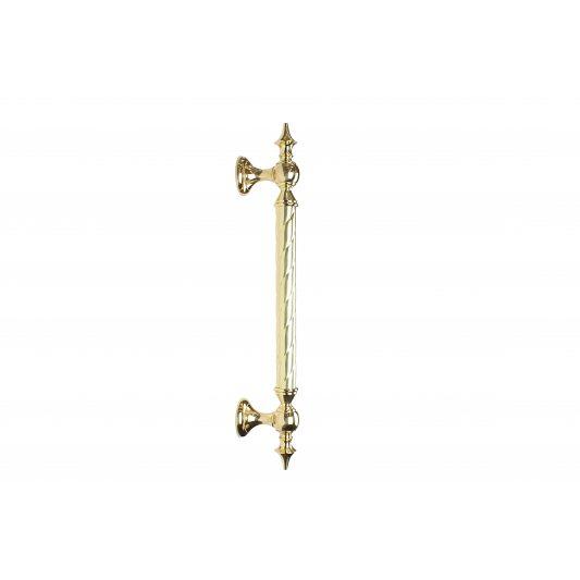 Дверная ручка SMERALDO - скоба, латунь полированная фото_2