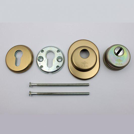 Защитная накладка на цилиндр, для входных дверей фото_3