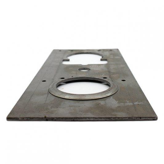 Привариваемая стальная пластина фото_4