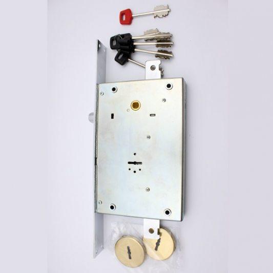 Замок для входных металлических дверей + ключ для рабочих фото_1